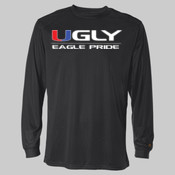 Ugly Eagle Pride - B-Dry Core Long Sleeve T-Shirt