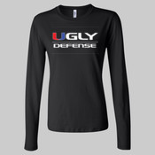 Ugly Defense - Ladies' Long Sleeve Jersey T-Shirt