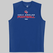 'CV Football' - Sleeveless B-Dry Tee