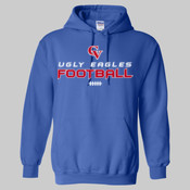 'CV Football' - Heavy Blend™ Hooded Sweatshirt