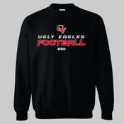 'CV Football' - Heavy Blend™ Crewneck Sweatshirt