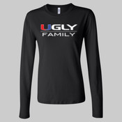 Ugly Family - Juniors' Fit Long Sleeve Jersey T-Shirt