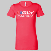 Ugly Family - Juniors' Fit The Favorite Tee