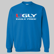 Ugly Eagle Pride - Heavy Blend™ Crewneck Sweatshirt